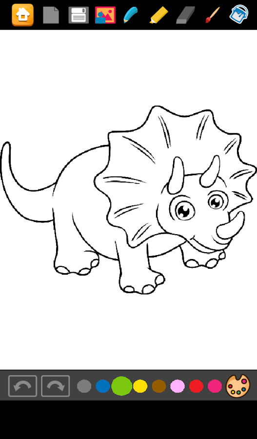 Dinosaurs Coloring Games - Android Apps on Google Play