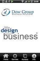 Screenshot of web design dubai - Dow Group