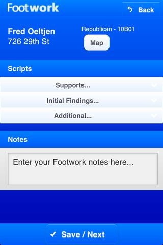 Footwork - screenshot