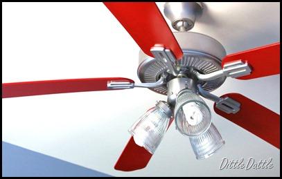 Remodelaholic fan tastic ceiling fan face lift guest ceiling fan face lift guest aloadofball Gallery