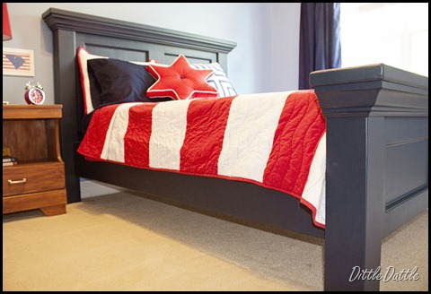 Remodelaholic Diy Pottery Barn Inspired Bed Headboard