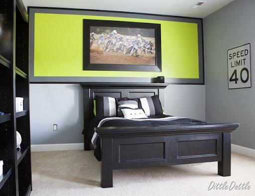 Bed room ideas on pinterest men bedroom grey bedrooms - Teen room paint ideas ...
