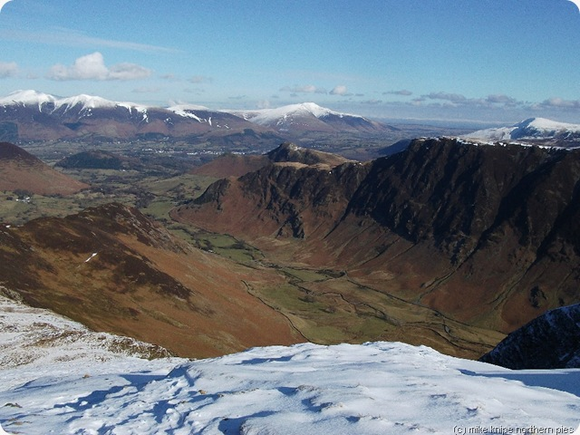 blencathra from hindscarth