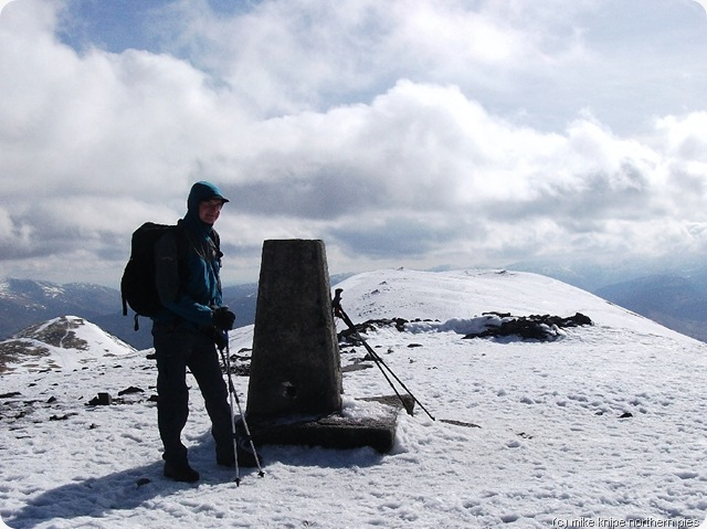 graham at skiddaw trig point