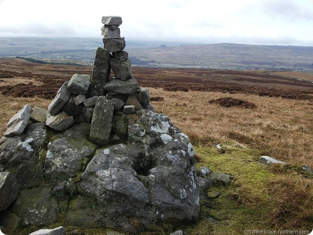 cairn on monks moor