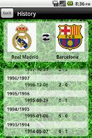 Screenshot of The Football Database