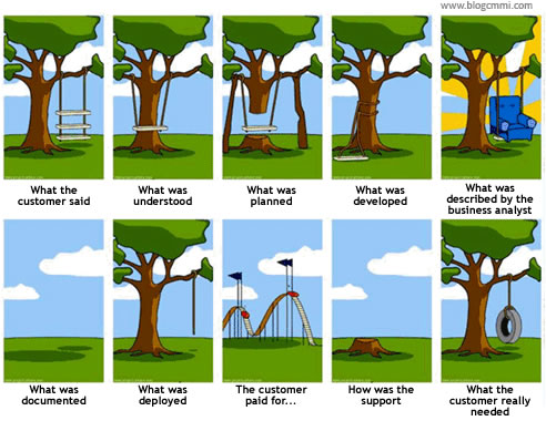software development: expectations vs reality
