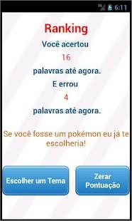 JOGO DA FORCA - BRASIL - screenshot thumbnail