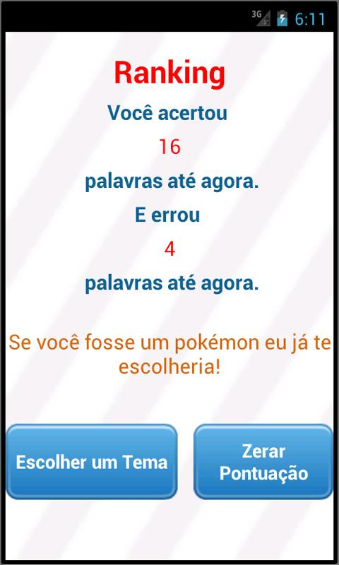JOGO DA FORCA - BRASIL - screenshot