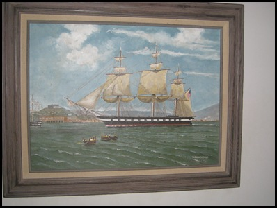 USS Constellation Naples 1862, de Simone
