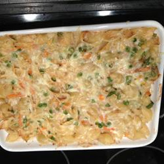 Easy Cheesy Tuna Casserole