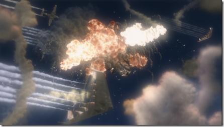 А взрывы в движении выглядят ещё зрелищней