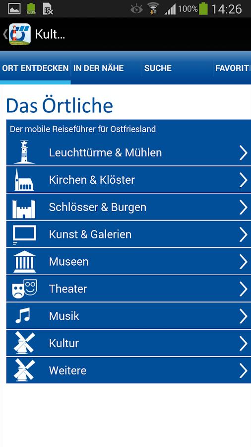Ostfriesland App – Reiseführer - screenshot