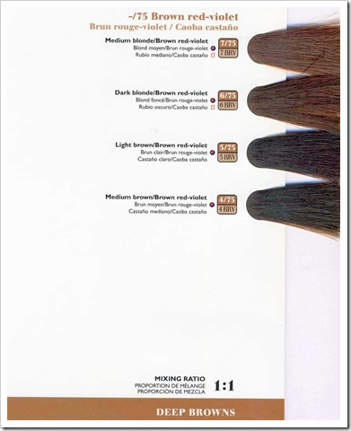 Wella Color Touch Swatch Book Coloring Pages