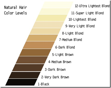 Red Hair Color Number Chart On Strands Clinic Men Professional
