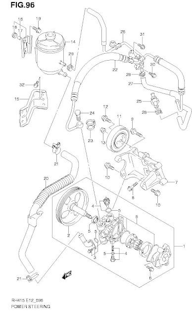 Diy   Atasi Oli Rembes Pada Hose Suction Power Steering Aerio    Next G