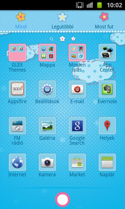 HK GO Launcher EX Theme - screenshot