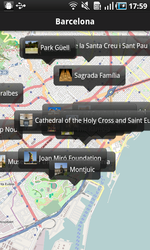 Audio City Guides Lite- screenshot