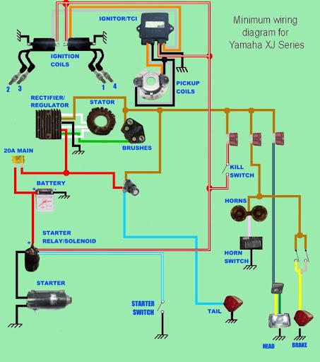 wiring diagram yamaha xs650 triumph yamaha xs650 motor