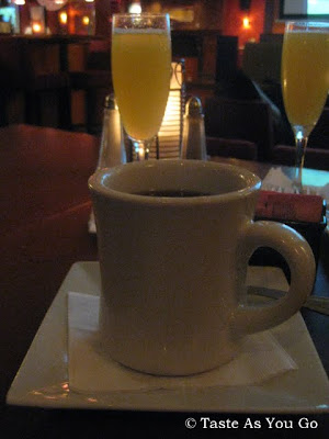 Coffee and Mimosas at Faces & Names in New York, NY | Taste As You Go