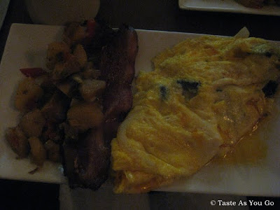 Three-Egg Omelette at Faces & Names in New York, NY | Taste As You Go