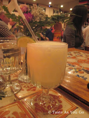 Margarita at Viva Pancho in New York, NY - Photo by Taste As You Go