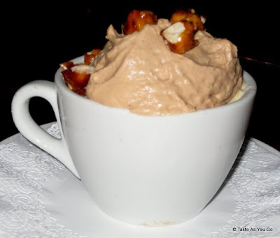Cappuccino-Style Dessert with Hazelnuts - Photo by Taste As You Go