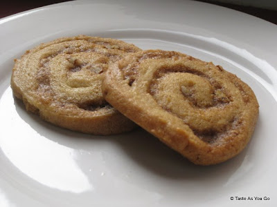 Cinnamon Pecan Swirl Cookies - Photo by Taste As You Go