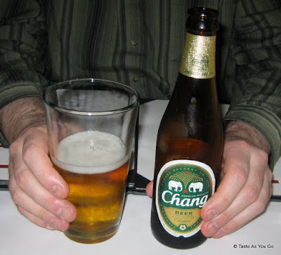 Chang Beer at Rhong Tiam in New York, NY - Photo by Taste As You Go