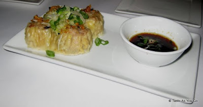 Steamed Chicken and Shrimp Dumplings at Rhong Tiam in New York, NY - Photo by Taste As You Go