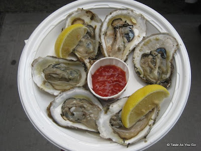 Oysters - Photo by Taste As You Go