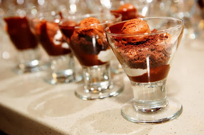 Night Flights Dessert by Chef Elizabeth Falkner - Photo Courtesy of RF Binder