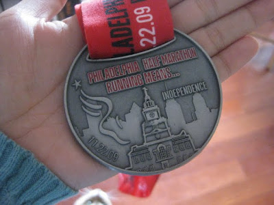 Philadelphia Half Marathon Medal | Taste As You Go
