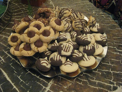 Hershey's Kisses Cookies - Photo by Taste As You Go