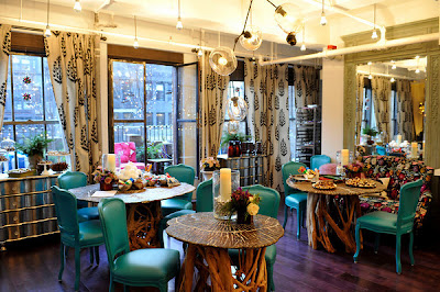 Sitting Area of Robert Verdi's Luxe Laboratory in New York, NY   Photo Courtesy of JSH&A Public Relations
