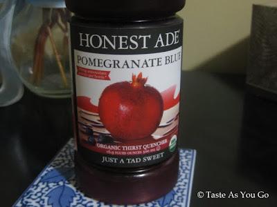 Honest Ade Pomegranate Blue   Taste As You Go