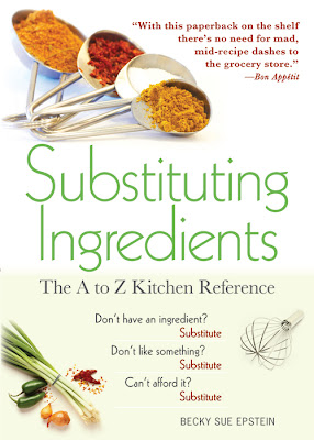 Substituting Ingredients by Becky Sue Epstein - Cover Art