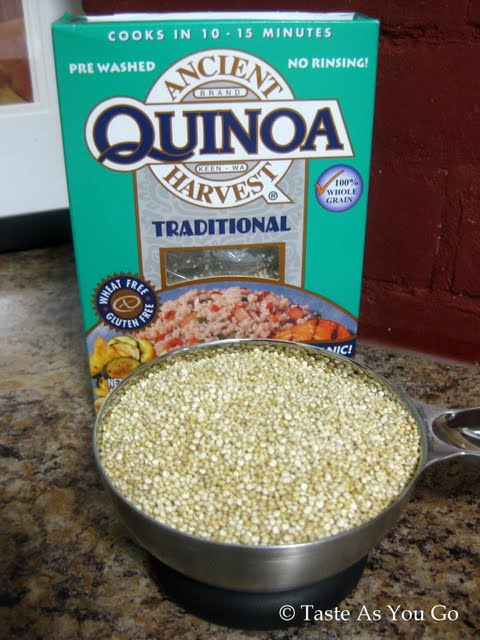 Quinoa | Taste As You Go