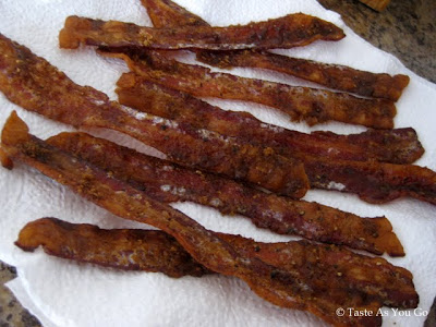 Sweet and Spicy Bacon - Photo by Taste As You Go