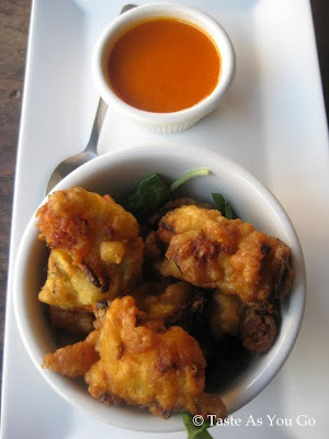 Shrimp Fritters at Bentara in New Haven, CT - Photo by Taste As You Go