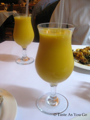Mango Lassis at Utsav in New York, NY - Photo by Taste As You Go