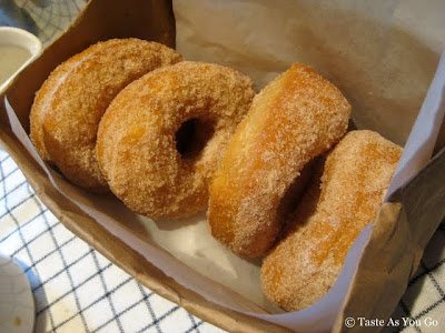 Housemade Raised Donuts at The Standard Grill in New York, NY - Photo by Taste As You Go