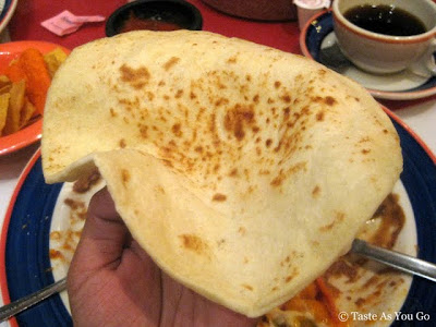 Fresh Tortilla at Mi Tierra Cafe & Bakery in San Antonio, TX - Photo by Taste As You Go