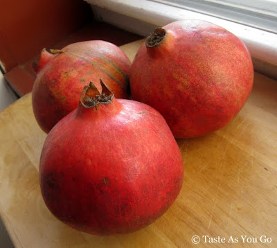Pomegranates - Photo by Taste As You Go
