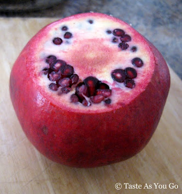 Topless Pomegranate - Photo by Taste As You Go