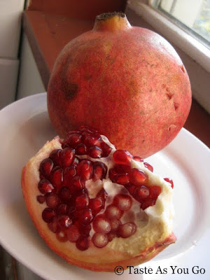 Pomegranate - Photo by Taste As You Go