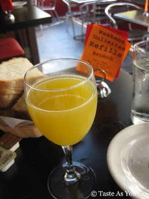 Unlimited Mimosas at La Giara in New York, NY - Photo by Taste As You Go