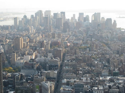 View of Downtown from Empire State Building - Photo by Taste As You Go