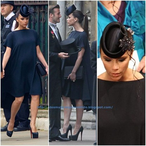 Victoria Beckham Royal Wedding