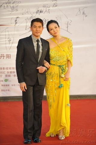 Zhang Ziyi Love for Life premiere